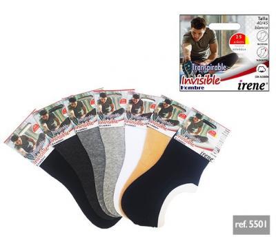 Invisible Hombre Sport  Algodón Sin Costuras Pack 6 und