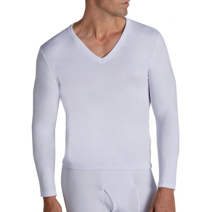 Camiseta Termal Cuello Pico Hombre Ysabel Mora