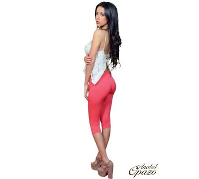 Leggins Piratas Push Up Algodón